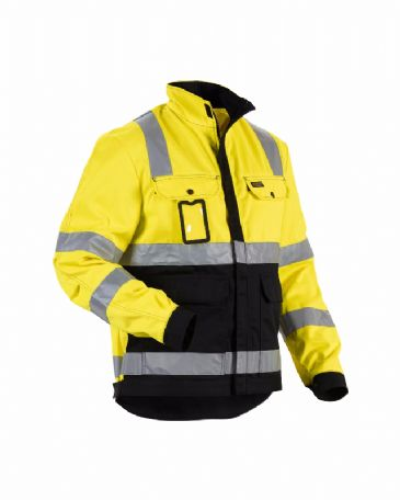 Blaklader 4023 High Vis Jacket (Yellow/Black)